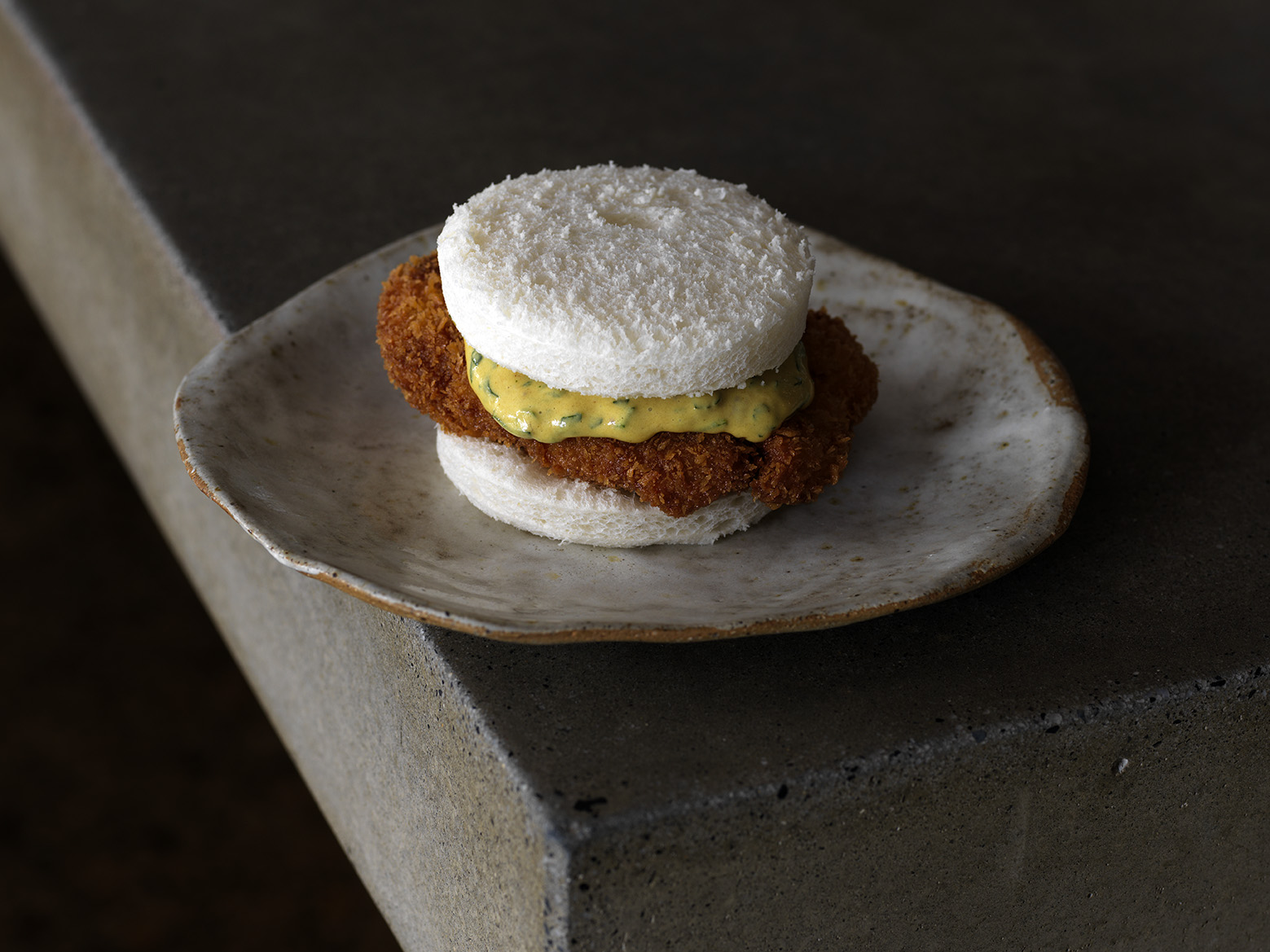 The Veal Sweetbread Schnitty Sanga - a Fleet menu mainstay for five years.