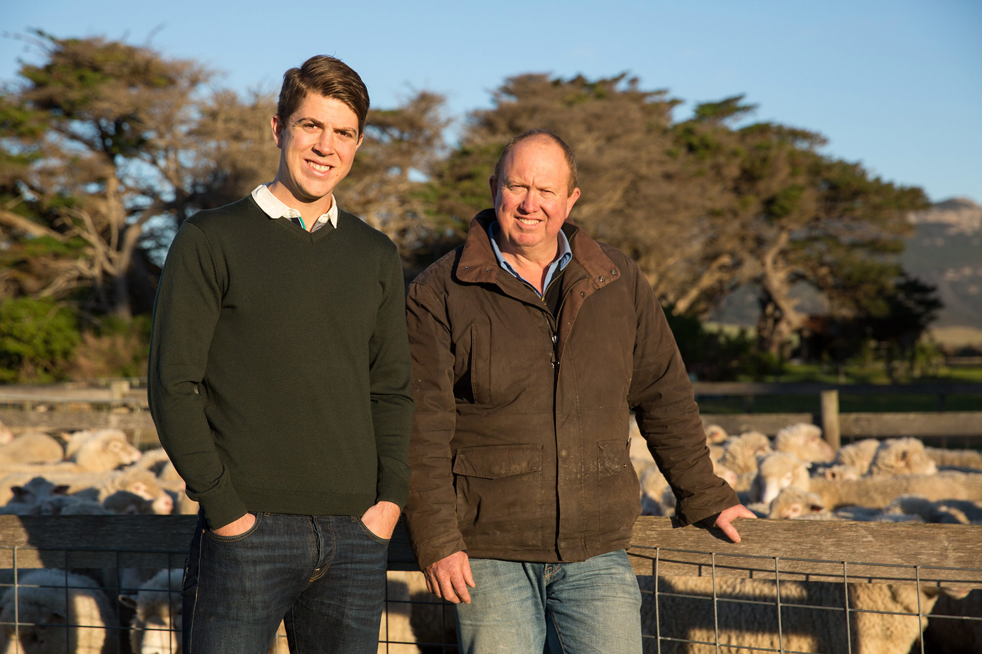 James and David Madden of Flinders & Co - the first meat company in the world to fully offset carbon emissions.