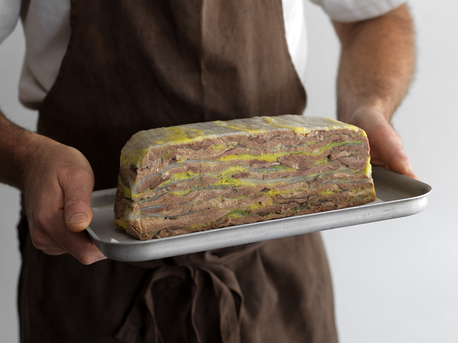 Fleet's beef tongue terrine - a labour of love but worth every moment.