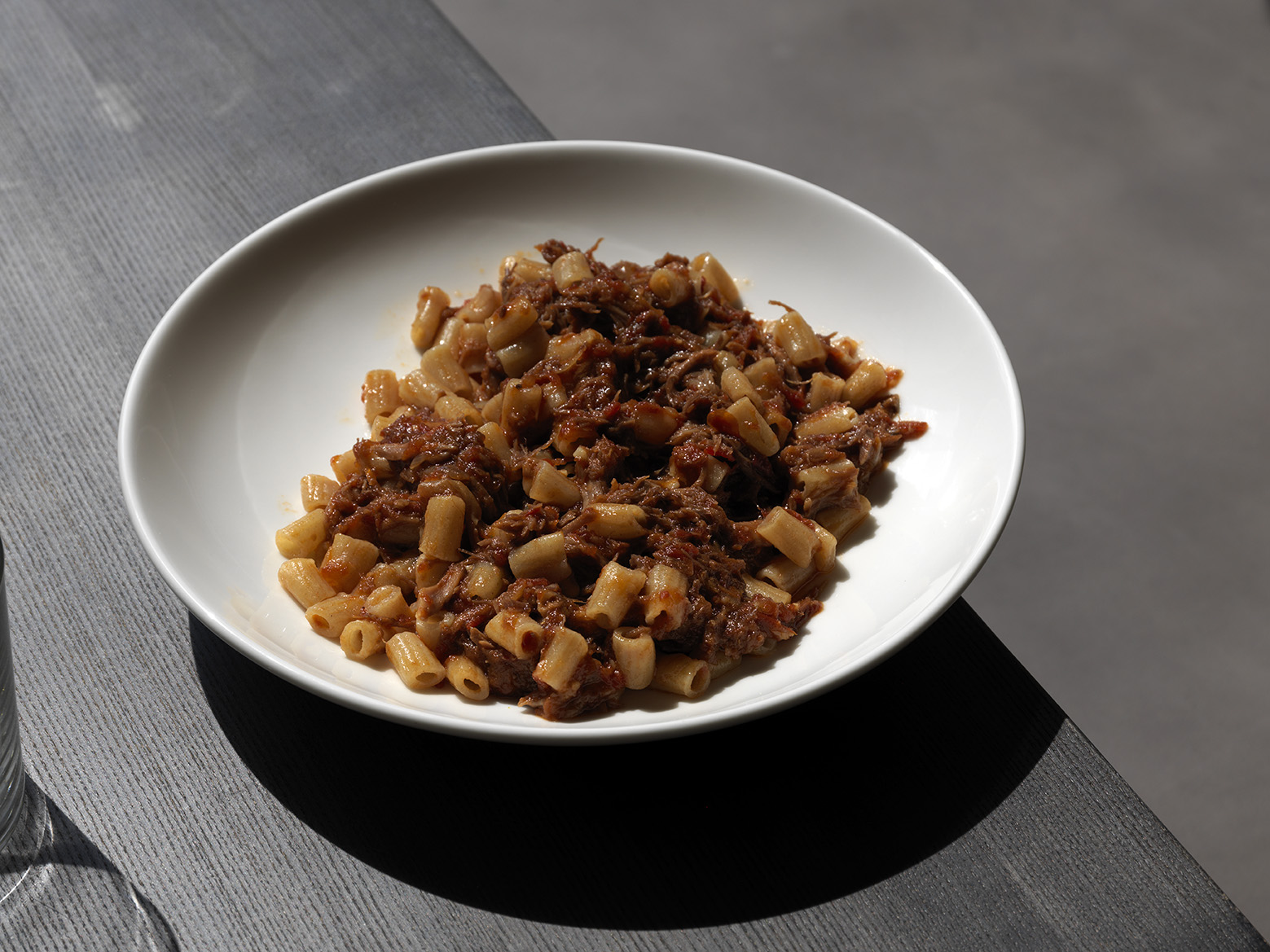 Rigatoni Osso Bucco Ragu - a dish worth devouring any day of the week, even when it's 40 degrees outside.