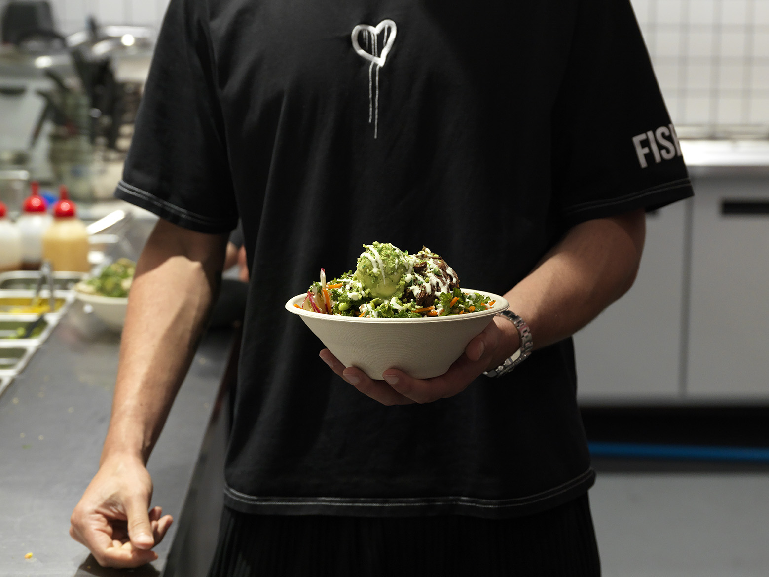 Fishbowl's brisket bowl - a nutritious and delicious option at the new Parramatta Square.