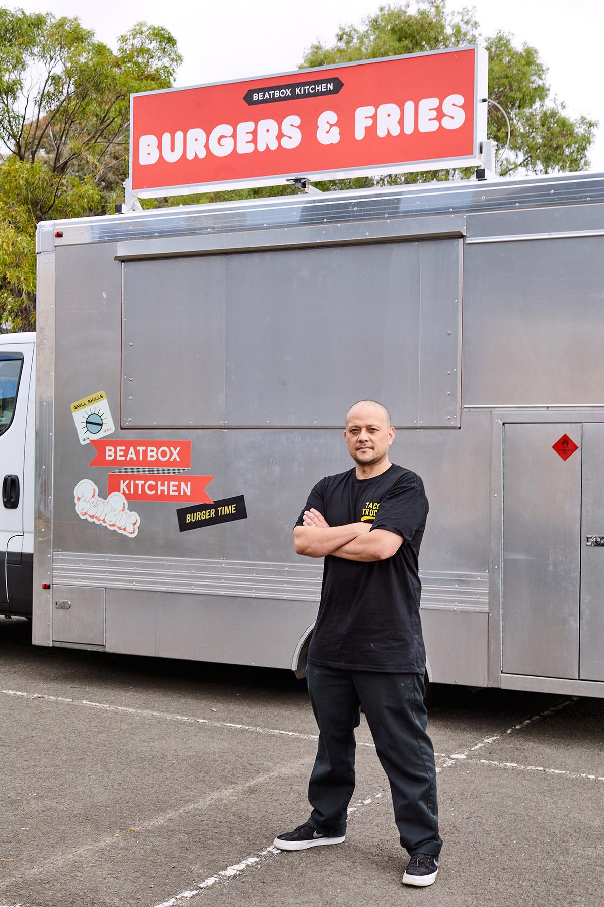 The food truck OG - Raph Rashid.