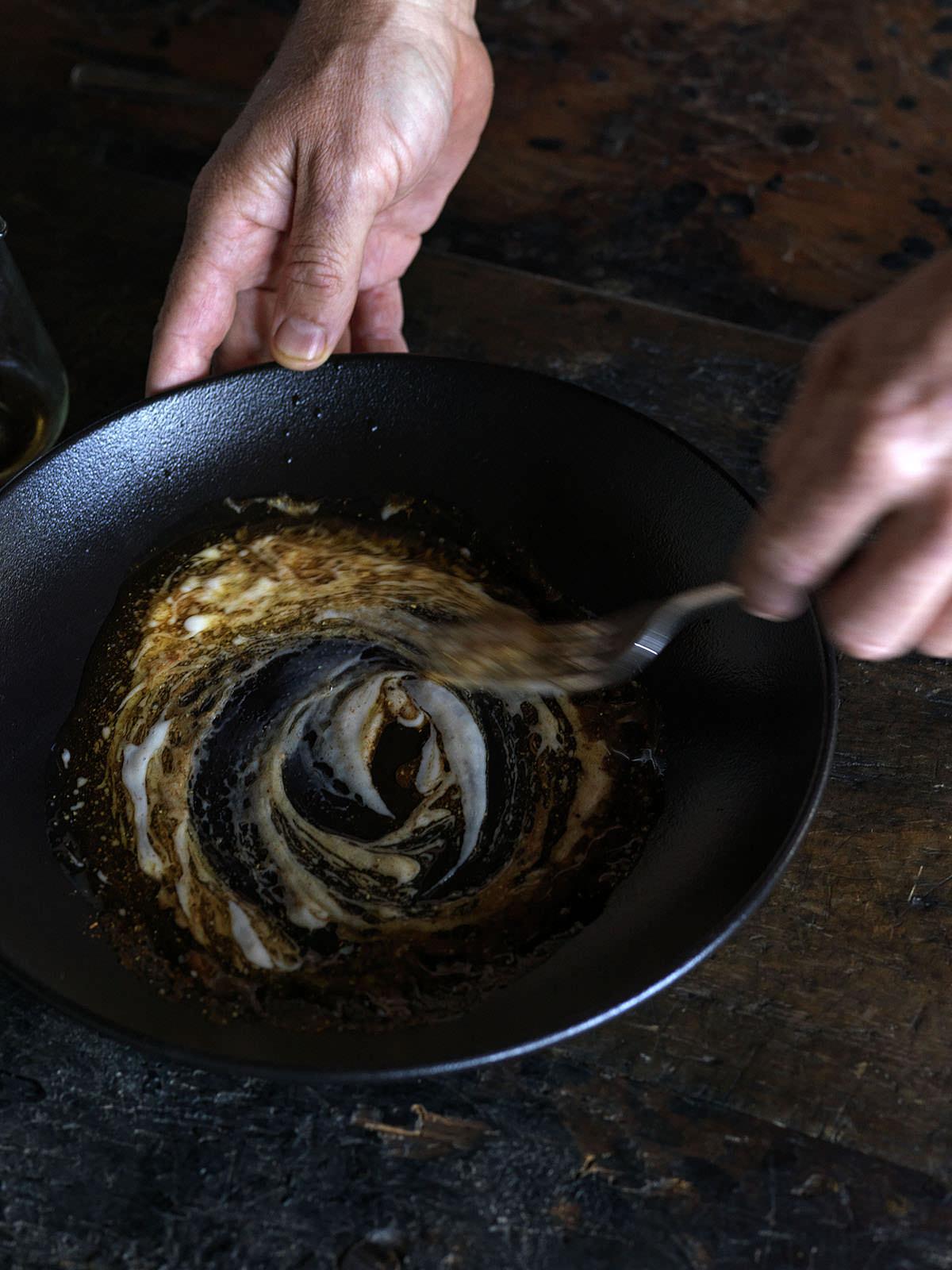 Shio Koji - a natural tenderiser for steak which also imparts rich umami flavour.