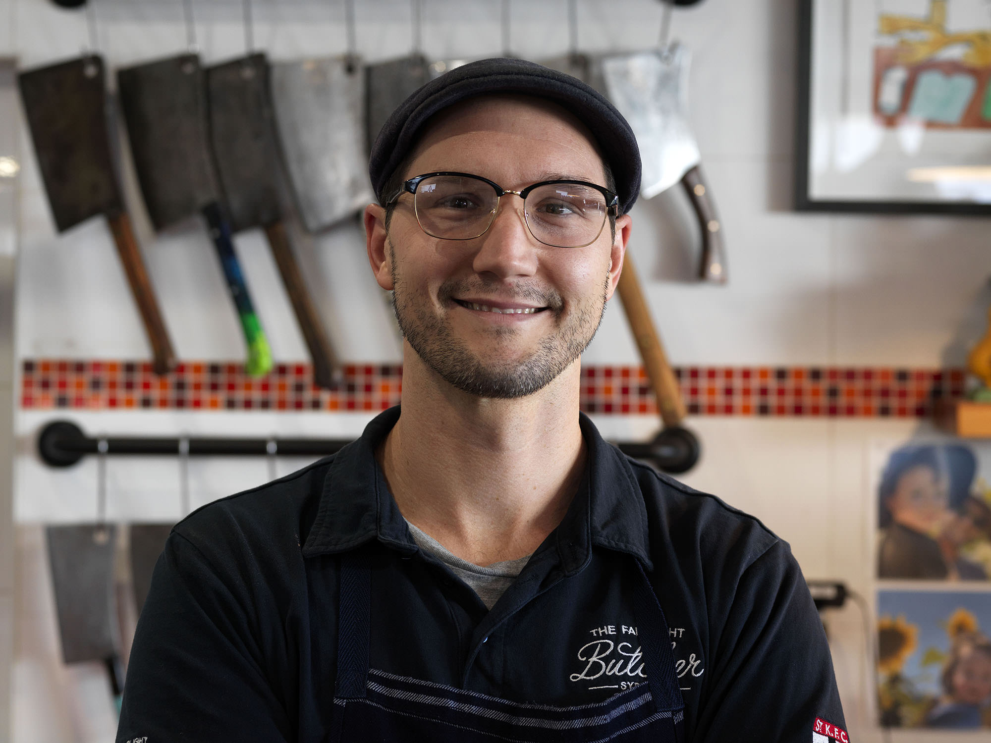Butcher Ryan Watson spent four years as a jackaroo before taking on a butchery apprenticeship and purchasing his own shop in 2016.