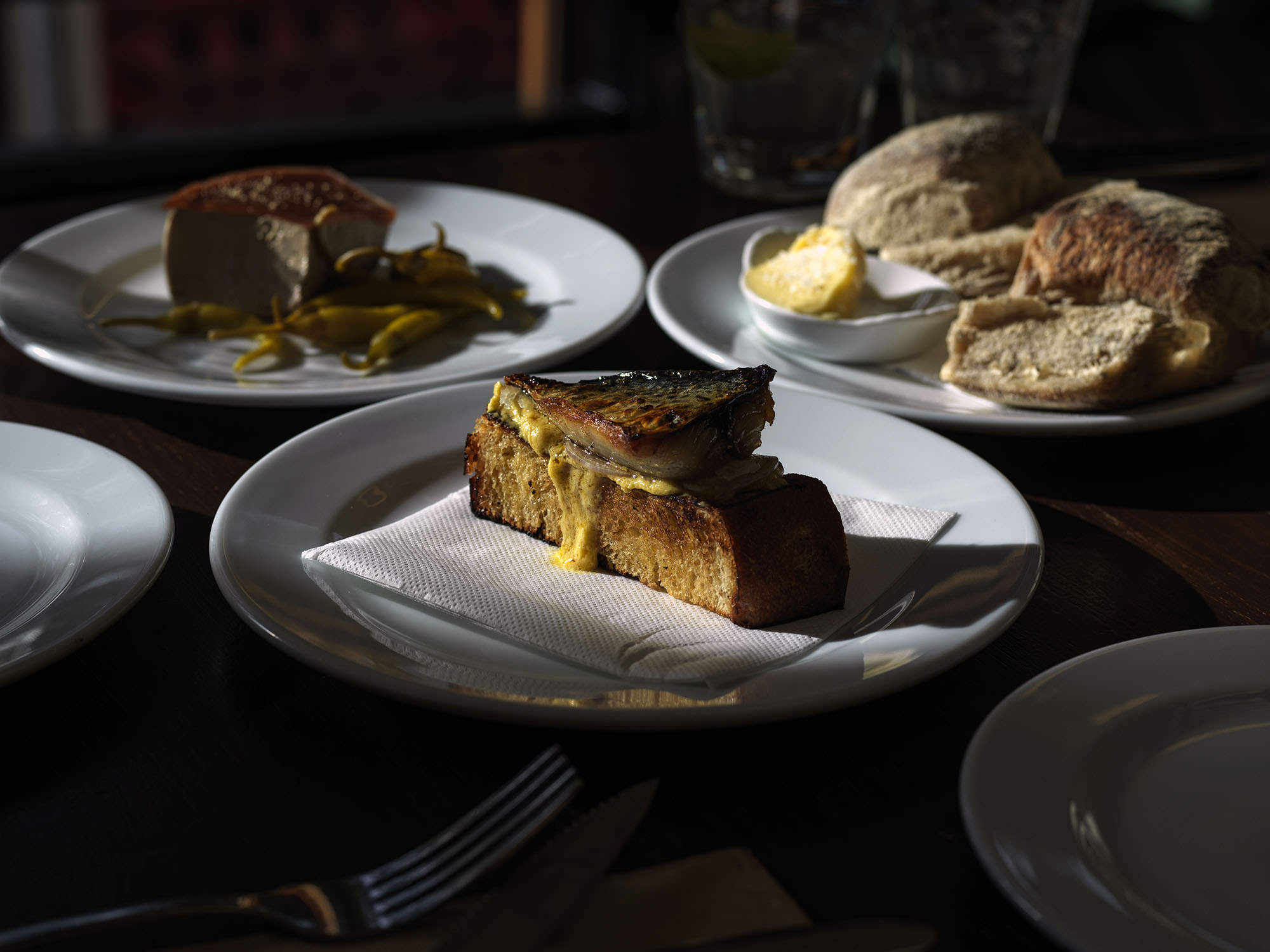 The Old Fitz has a reputation for pub food - but not as you know it.