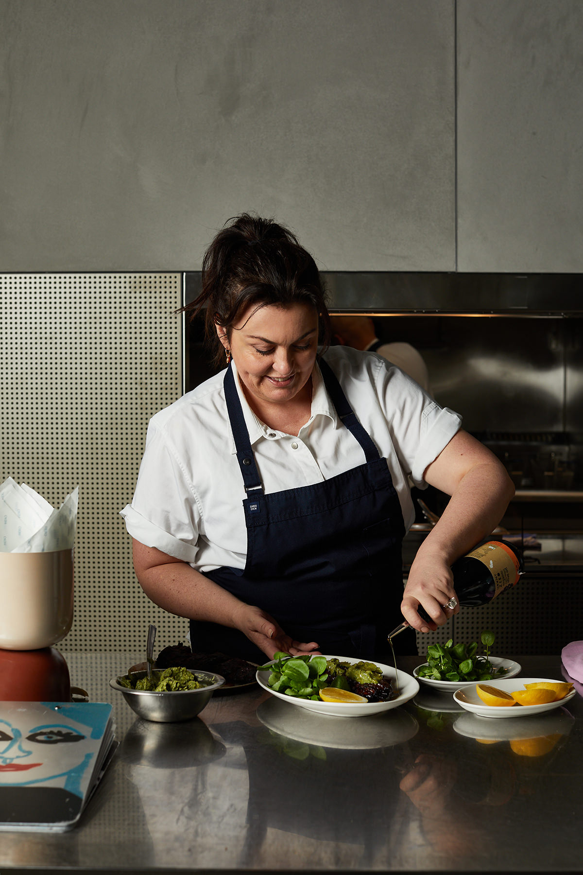 After learning the basics at Tansy's, Martini was mostly self-taught and landed her first head chef gig at 20.