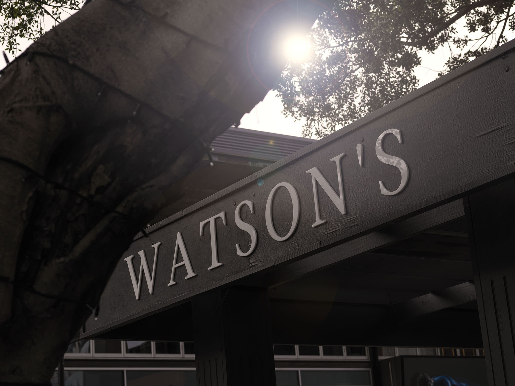 Watson's has taken over the old PJ O'Gallaghers site at Moore Park.